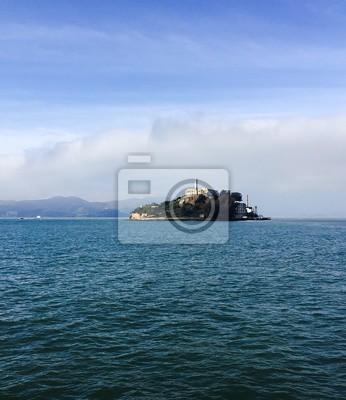 Alcatraz, île, mer, californie