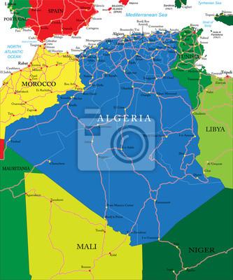 Algérie carte