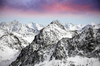 Sticker Alpes