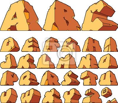 Alphabet de la pierre