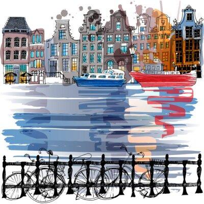 Sticker Amsterdam