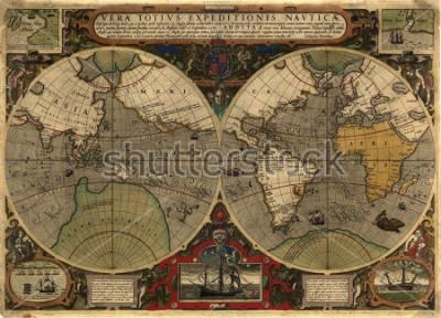 Sticker Ancient map
