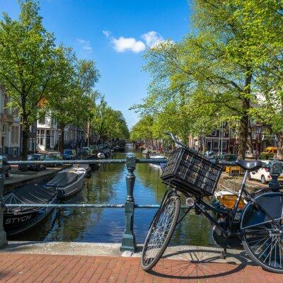Anneau De Canal Dans Amsterdam, Pays Bas