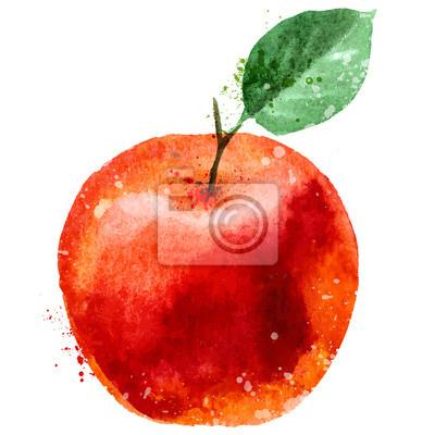 apple modèle de conception de logo. fruits ou l'icône de la nourriture.