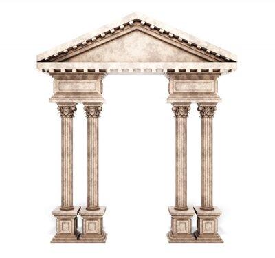 Sticker Arc classique de la colonne de Corinthe.