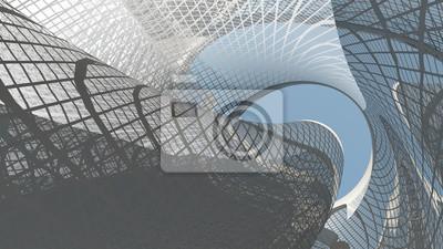 Sticker Architecture contemporaine