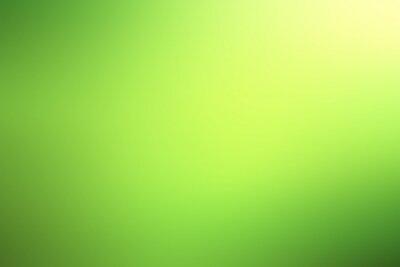 Sticker arrière-plan flou vert clair de printemps, design flou brillant, fond d'été pour la conception de papier peint
