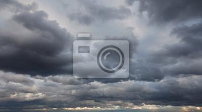 Sticker Arrière-plans naturels: ciel orageux