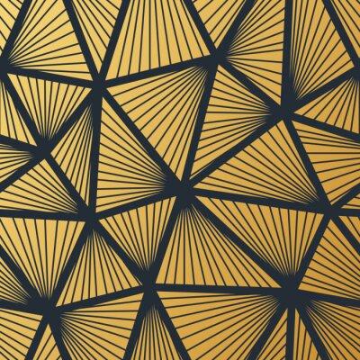 Art Deco Motif De Papier Peint Vintage Sans Couture Decoration