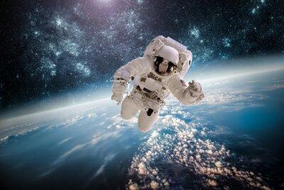 Sticker Astronaut éléments de SPAC extérieures de cette image fournie par la NASA.