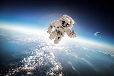 Sticker Astronaute dans l'espace