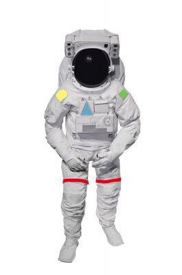 Sticker Astronaute isolé sur fond blanc