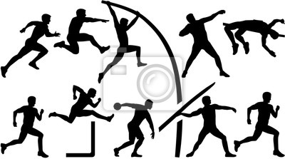 Athlétisme décathlon
