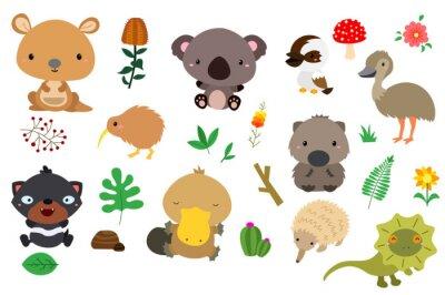 Sticker australie nature (pas de fond)