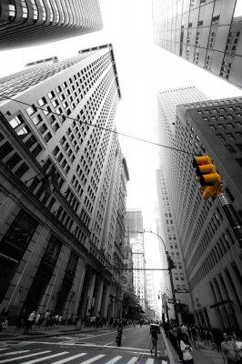 Sticker avenue nouvelle yorkaise
