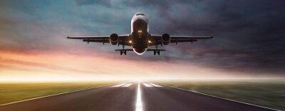 Sticker Avion en vol