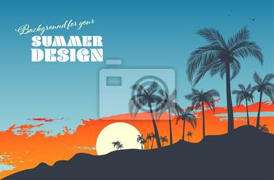 Sticker Background for your summer design