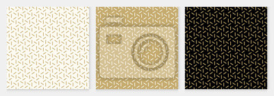 Sticker Background pattern seamless geometric line abstract gold luxury color vector.