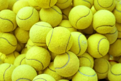 Sticker balle de tennis