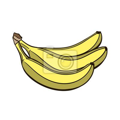 Sticker Banana Vecteur