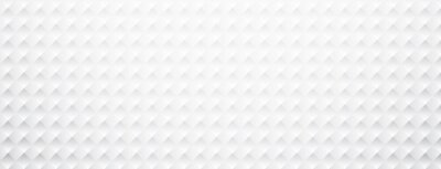 Sticker Bannière texturée en carton blanc.