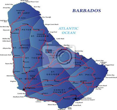 Barbade carte