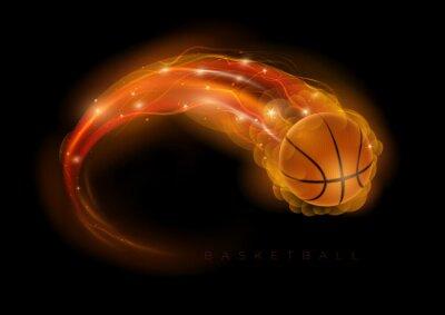 Sticker Basket-ball comète