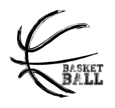 Sticker basket-ball le sport