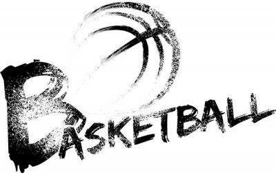 Sticker Basketball Grunge Séries