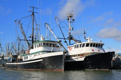 Sticker Bateaux de pêche