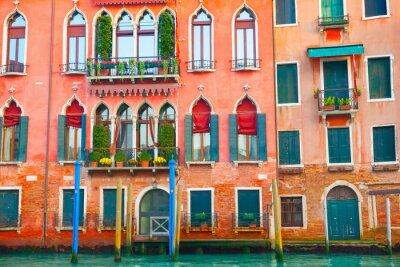 Sticker Bâtiments de Venise sur le Grand Canal