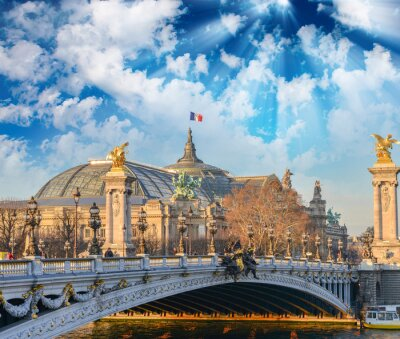 Sticker Bâtiments et monuments de Paris