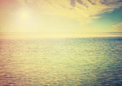 Sticker Beau, ciel, bleu, mer