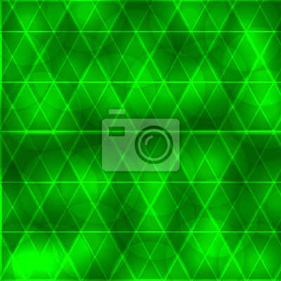 Beau, vert, fond, cercles, triangle