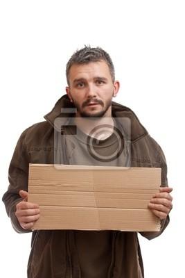 Beggar carton tenant