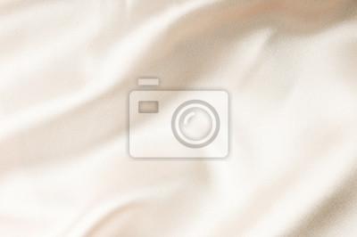 Sticker beige silk fabric texture. Satin Background