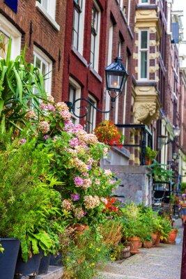 Sticker Belle maison à Amsterdam
