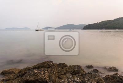 Belle marin naturel, Lam Panwa, Phuket Thaïlande