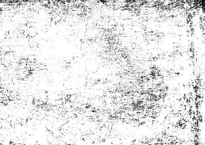 Sticker Black and white grunge. Distress overlay texture. Abstract surface dust and rough dirty wall background concept. Distress illustration simply place over object to create grunge effect . Vector EPS10.