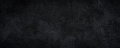 Sticker Black or dark gray rough grainy stone texture background