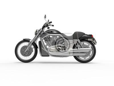Sticker Black Roadster Bike - Vue latérale