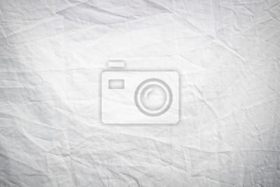 Sticker Blanc, froissé, tissu, texture