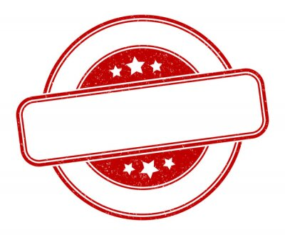 Sticker blank stamp. blank round grunge sign. label