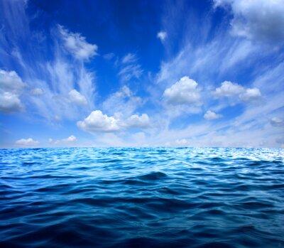 Sticker Bleu, mer, eau