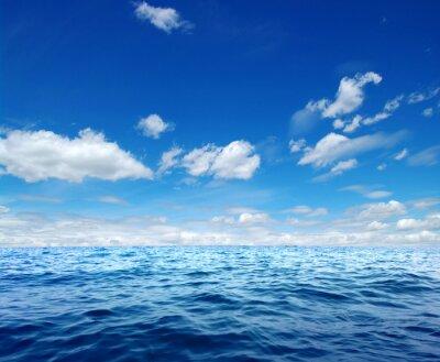 Sticker Bleu, mer, eau, surface