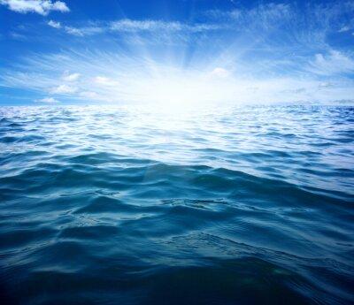 Sticker Bleu, mer, soleil