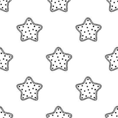Sticker Bois, étoiles, modèle, 2