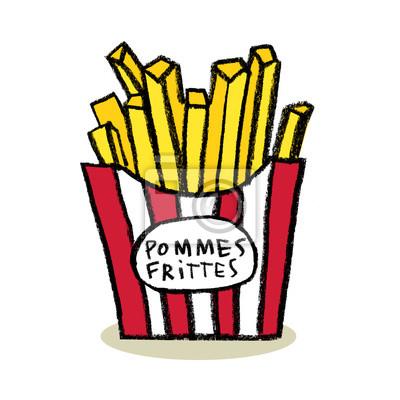 Boîte de frites (Pommes Frittes)