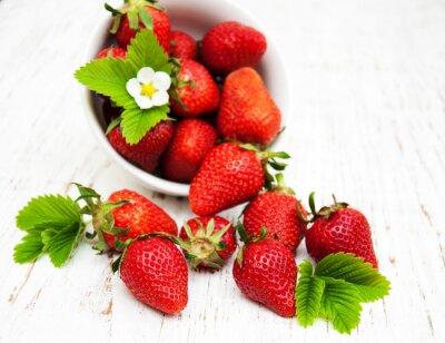 Sticker Bol, fraises