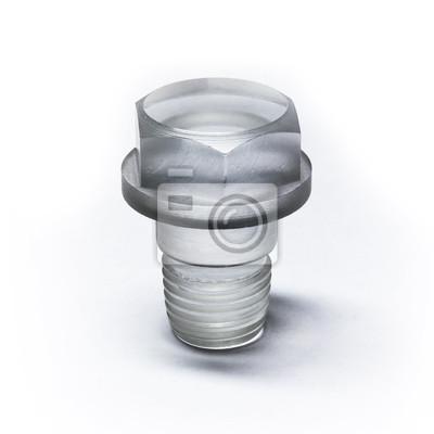 Bolt inhabituelle en plastique transparent